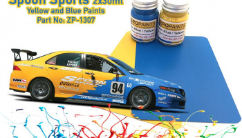 Spoon Sports Blue and Yellow Paint Set 2x30ml - Zero Paints