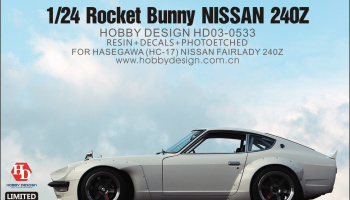 RB Nissan 240Z Wide Body Kit For Hasegawa(HC-17) Nissan Fairlady 240Z - Hobby Design