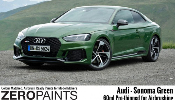 Audi RS - Sonoma Green Paint 60ml - Zero Paints