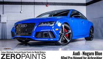 Audi RS - Nogaro Blue Paint 60ml - Zero Paints