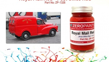 Royal Mail (Post Office) Red Paint 60ml - Zero Paints