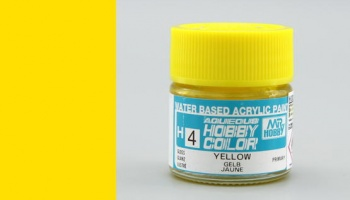Hobby Color H 004 - Yellow Gloss - Gunze