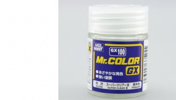 Mr. Color GX 100 - Super Clear III (18ml) - Gunze