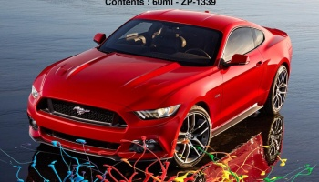 2015 Ford Mustang Ruby Red Paints 60ml - Zero Paints