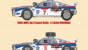 Lancia Rally 037 Safari Fulldetail Kit - Model Factory Hiro