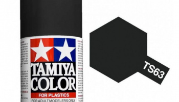 Spray TS63 NATO Black - Tamiya