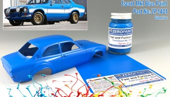 Fast and Furious 6 Ford Escort Mk 1 Blue Paint 60ml - Zero Paints