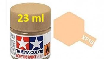 XF-15 Flat Flesh Acrylic Paint 23ml  XF15 - Tamiya