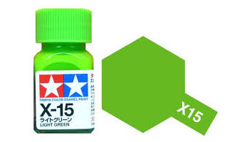 X-15 Light Green Enamel Paint X15 - Tamiya