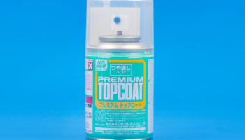 Mr. Premium Top Coat Flat - Gunze