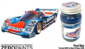 Pearl Blue Porsche 962C Le Mans 24 Hours 1990 60ml - Zero Paints