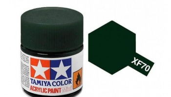 XF-70  Dark Green 2 Acrylic Paint Mini XF70 - Tamiya