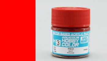 Hobby Color H 003 - Red Gloss - Gunze