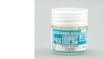 Hobby Color H 020 - Flat Clear - Gunze