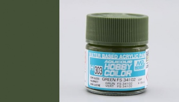 Hobby Color H 303 - FS34102 Green - Gunze