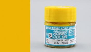 Hobby Color H 329 - FS13538 Yellow - Gunze