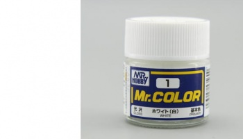 Mr. Color C 001 - White Gloss - Gunze