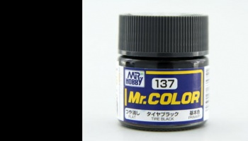 Mr. Color C 137 - Tire Black Matt - Gunze