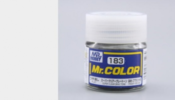 Mr. Color C 183 - Super Clear Gray Tone - Gunze