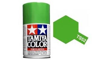 Spray TS52 Candy Lime Green - Tamiya