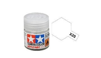 X-20 Thinner 10 ml, X20 - Tamiya