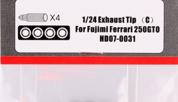 1/24 Exhaust Tip (C) For Fujimi Ferrari 250GTO - Hobby Design
