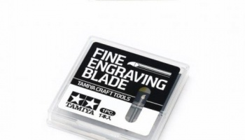 Fine Engraving Blade 0,1mm for 74139 - Tamiya