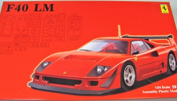 Ferrari F40 LM + Window Mask - Fujimi