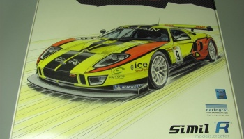 "Ford GT GT1 ""Belgian Racing"" GIA GT1 2011 - Simil R"