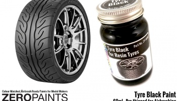 Tyre Black Paint - Zero Paints