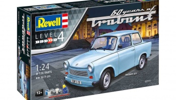Trabant 601S 60 Years of Trabant - Revell