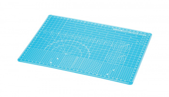 Cutting Mat A4 Blue - Tamiya