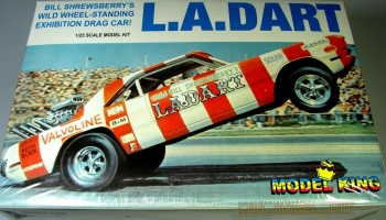L.A. Dart Rear Engine Hemi Funny Car (Ltd Prod) - AMT