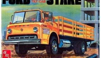 Ford C600 Tilt Cab Stake Bed Truck - AMT