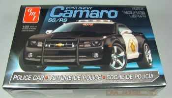 Chevy Camaro SS/RS Police Car 2010 - AMT