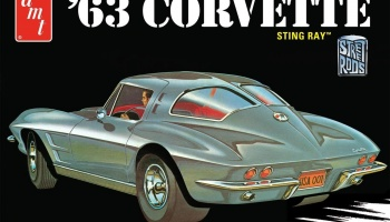 Chevy Corvette Sting Ray 1963 - AMT