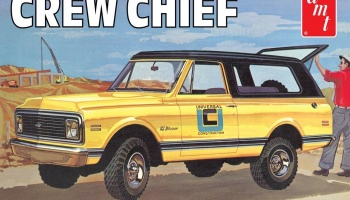 Chevy Blazer Crew Chief 1972 - AMT