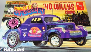 Willys Coupe Curlys Gasser - AMT