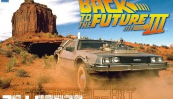 De Lorean DMC - Back To The Future III - Aoshima