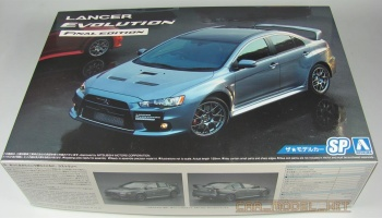 Mitsubishi Lancer Evolution X Final Edition 2015 - Aoshima