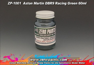 Aston Martin DBR9 - Racing Green - Zero Paints