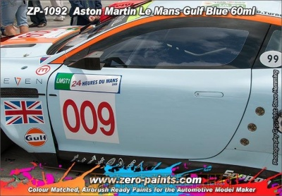 Aston Martin Le Mans - Gulf Blue - Zero Paints
