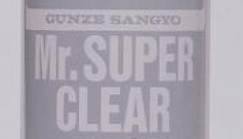 Mr. Super Clear Flat - lak matný 170ml - Gunze