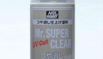 Mr. Super Clear UV Flat Spray - 170ml - Gunze
