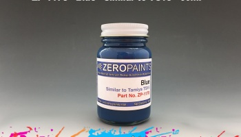 Blue Paint (Similar to TS15) 60ml (Solid) - Zero Paints