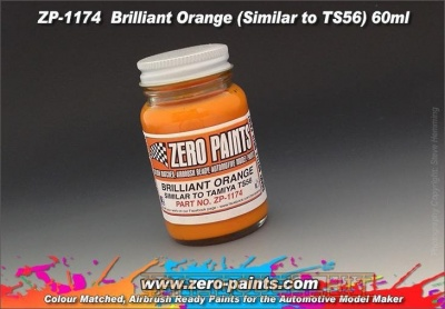 Brilliant Orange (Similar to TS56) 60ml - Zero Paints