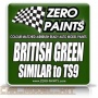 British Green - Zero Paints