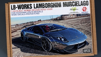 LB-Works Lamborghini Murcielago For Aoshima LP670 Models - Hobby Design