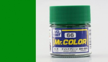 Mr. Color C066 Bright Green - Gunze