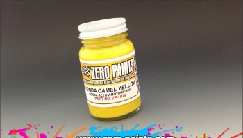 Camel Yellow Honda MotoGP Bikes - Zero Paints